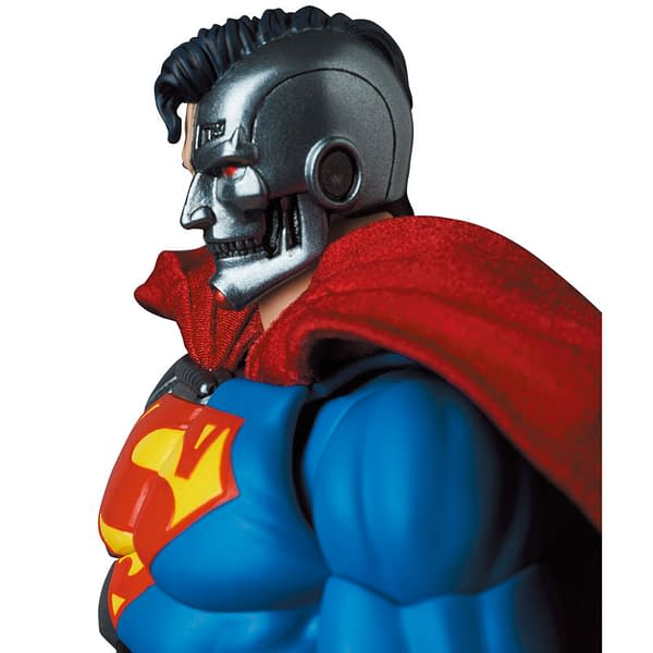 Cyborg Superman Comes To Earth As New MAFEX Release
