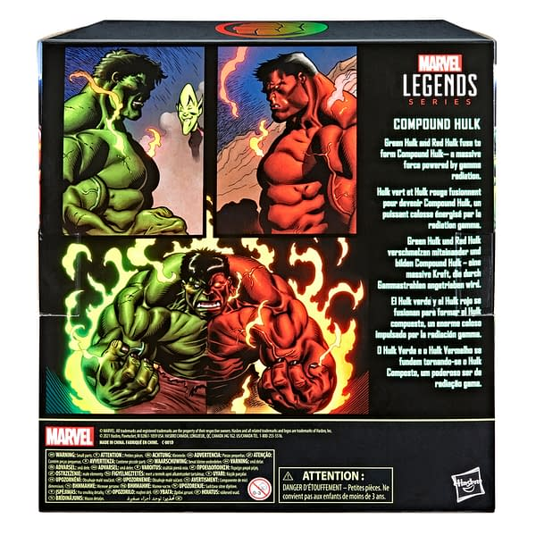 Hasbro Unleashes Marvel Legends Compound Hulk For Walmart Con