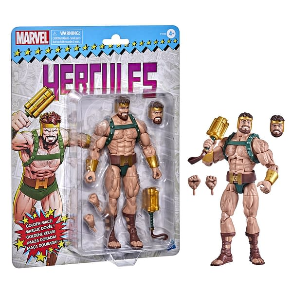 Marvel Legends Retro Packaged Hercules Up For Preorder