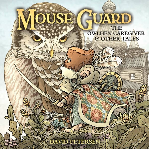 Cover image for MOUSE GUARD OWLHEN CAREGIVER #1