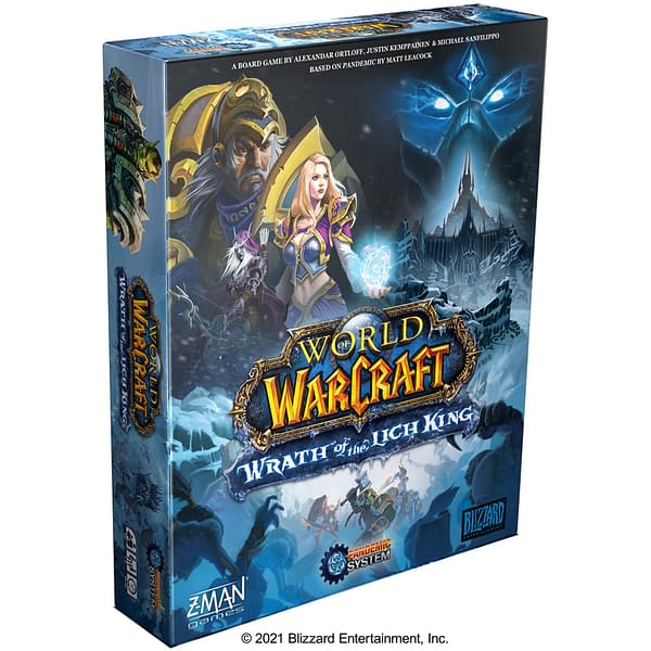 World Of Warcraft: Wrath Of The Lich King Board Game Revealed