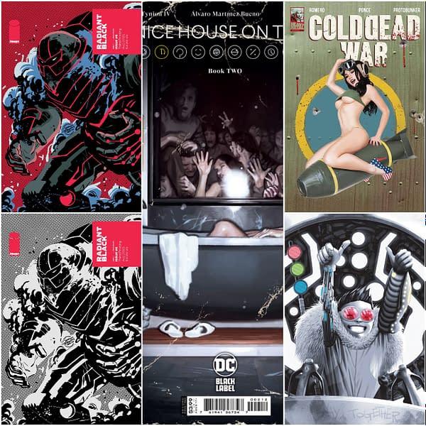PrintWatch: Radiant Black #5 Nice House #2 We Live #4 Cold Dead War #1