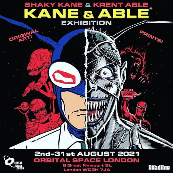 Things To Do In London If You Like Comics - August 2021 Edition