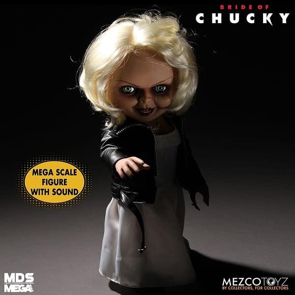 Bride of Chucky Tiffany Returns to Mezco Toyz With New Figure