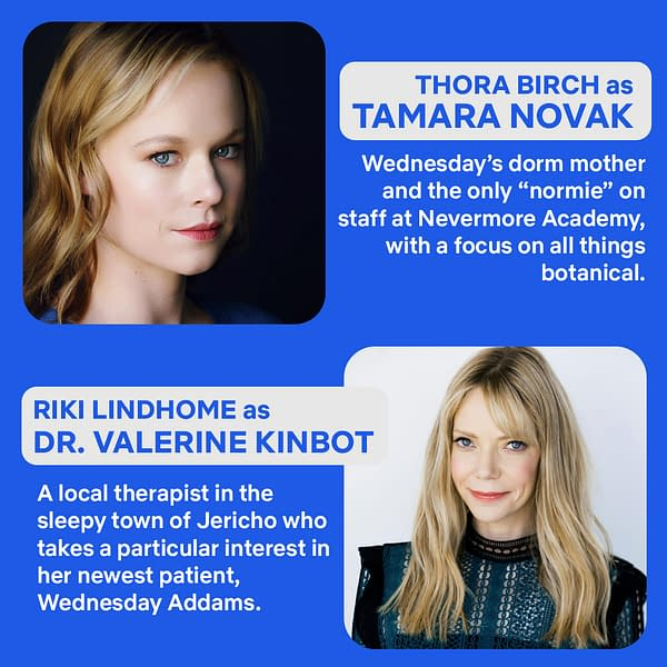 Wednesday: Gwendoline Christie & More Join Tim Burton Netflix Series