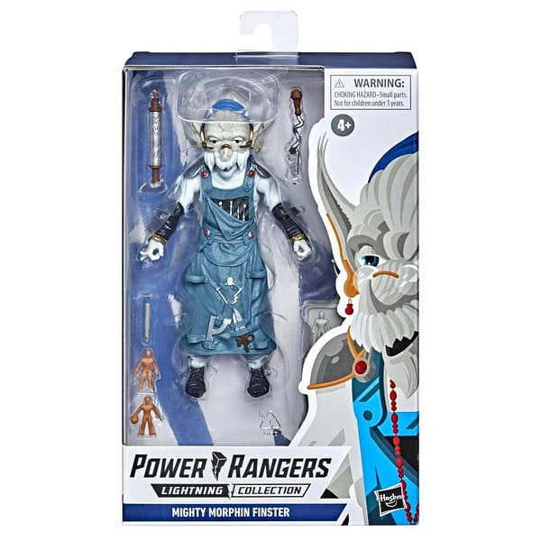 Mighty Morphin' Power Rangers Finster Coming from Hasbro