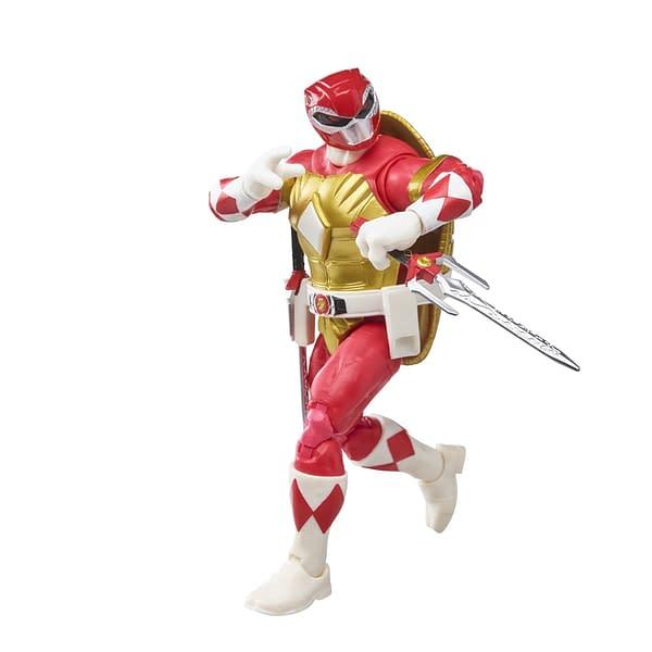 Red Ranger Raphael Arrives With Hasbro's Newest TMNT Figure Set