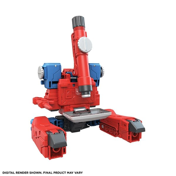 Transformers: The Movie Perceptor and Sweep Arrive From Hasbro