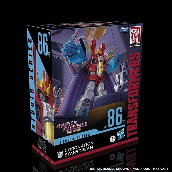 Transformers: The Movie Coronation Starscream Coming From Hasbro
