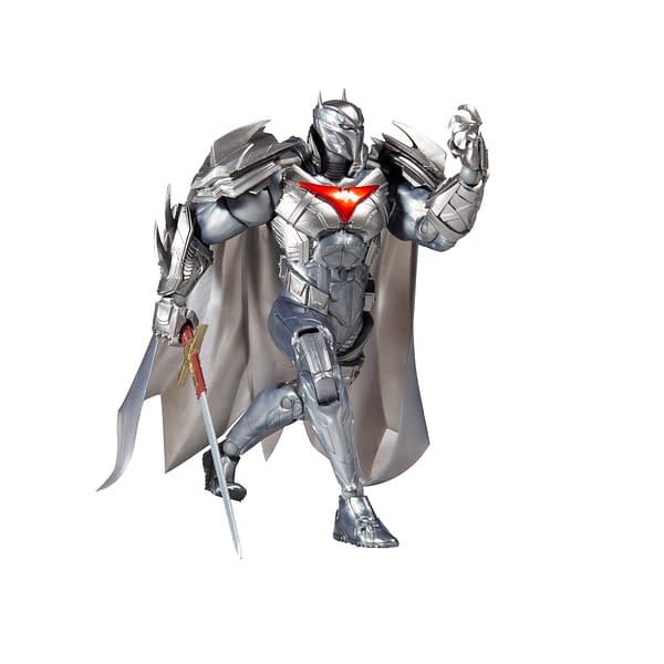 DC Comics Azrael Gets A New Silver Batsuit with McFarlane Toys