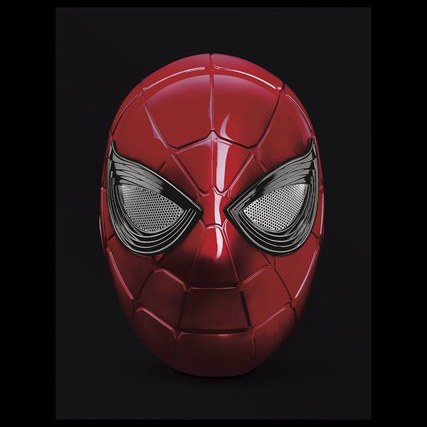 Hasbro Announces Replica Spider-Man Marvel Legends Iron Spider Helmet