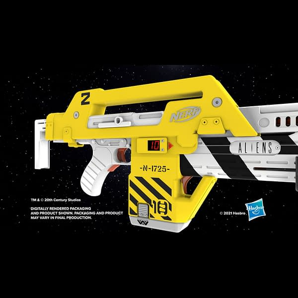 It's Game Over Man, With NERF's Replica Aliens M41-A Blaster