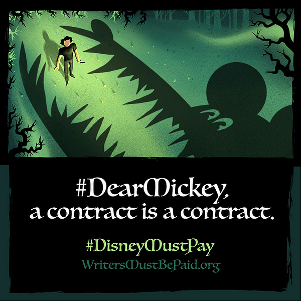 Graphic from the #DisneyMustPay task force.