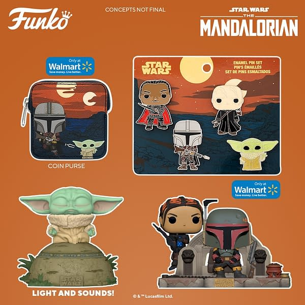 The Force is Funko As They Reveal New Wave of The Mandalorian Pops