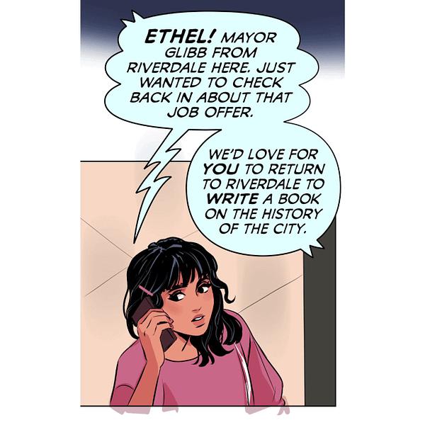 Big Ethel Energy: Archie Comics' First collaboration with WEBTOON