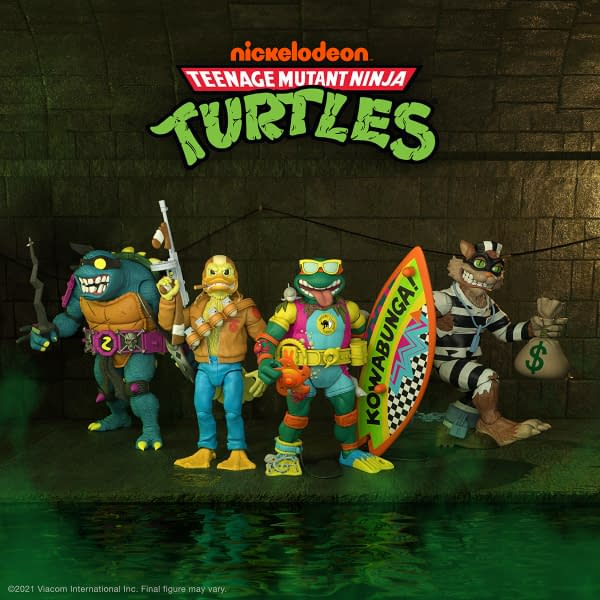 TMNT Super7 Ultimates Wave 6 Preorders Are Live
