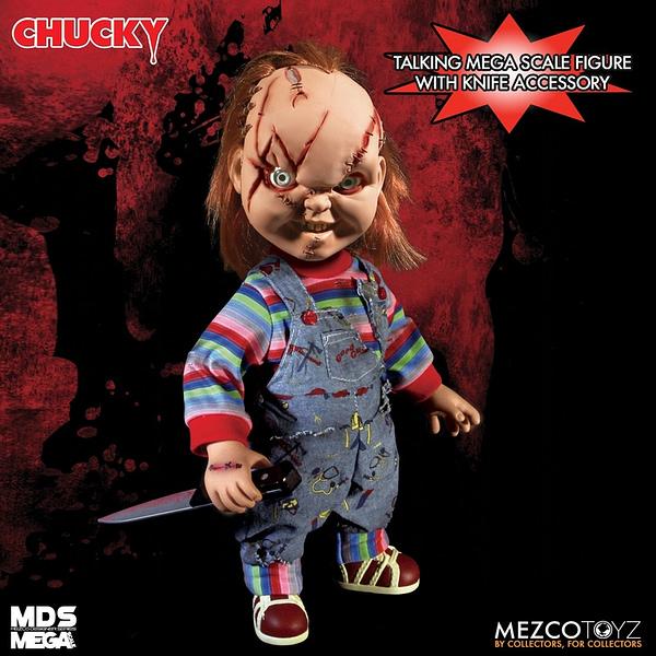 Mezco Toyz Announces Reissue of Bride of Chucky: Scared Chucky Doll