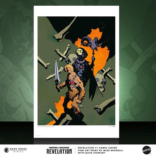 Masters of the Universe Revelations #1 Mignola Print