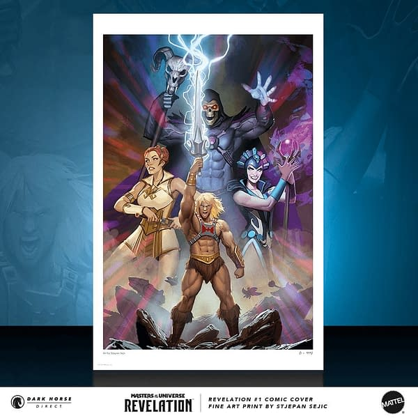 Masters of the Universe Revelations #1 Sejic Print