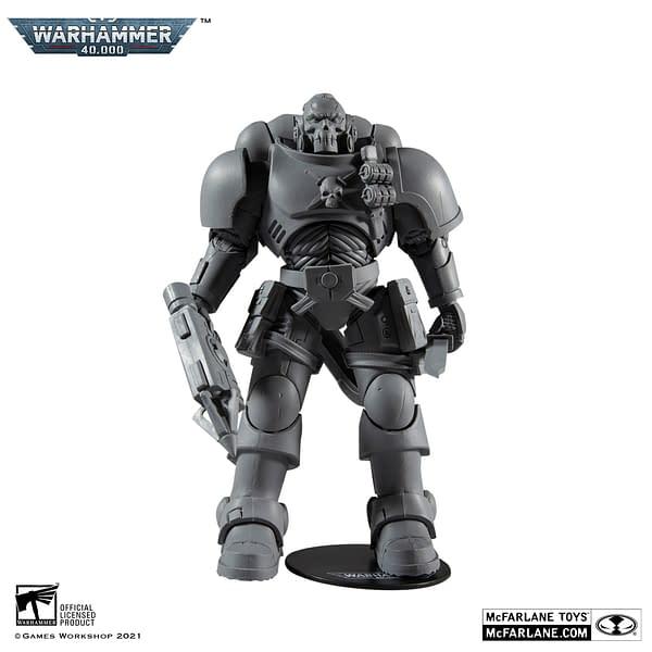 McFarlane Toys Deploys Two New Warhammer 40K Space Marines