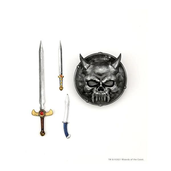 NECA Reveals Dungeons & Dragons Warduke and Grimsword Figures
