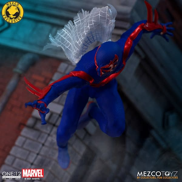 Spider-Man 2099 Swings On In With New Mezco Toyz Figure