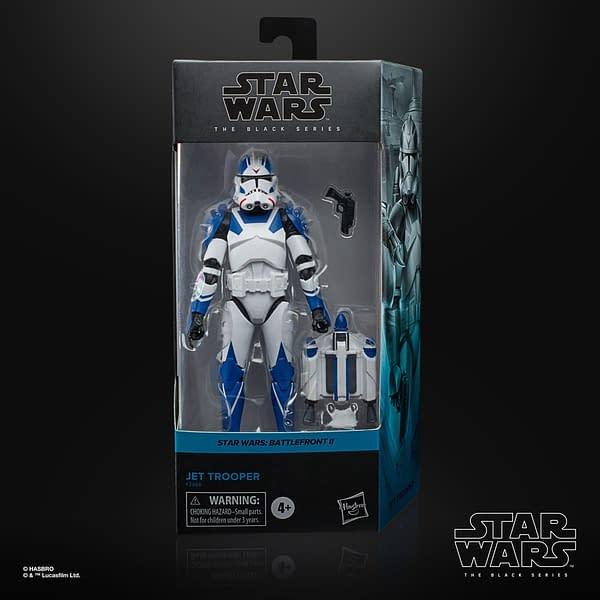 Star Wars Battlefront II Jet Trooper Blast His Way In from Hasbro