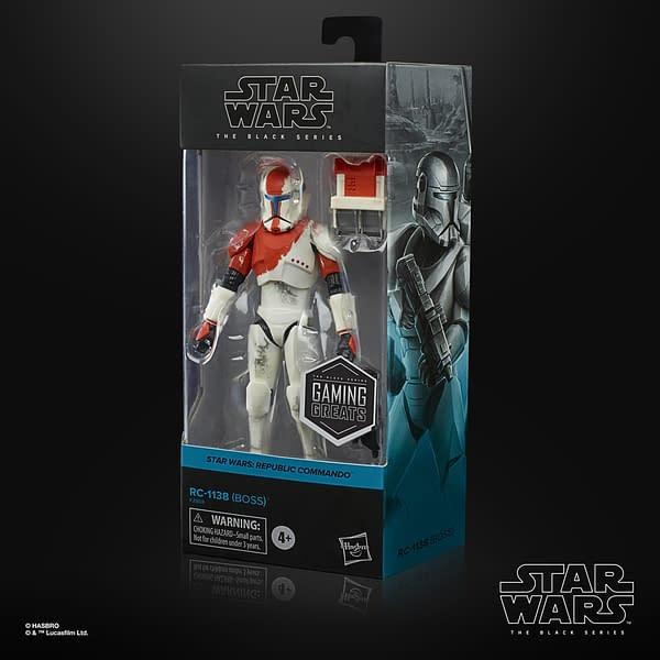 Hasbro Reveals Star Wars Republic Commando Gaming Greats Figure