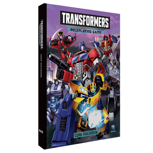 Renegade Game Studios Announces The Transformers Roleplaying Game