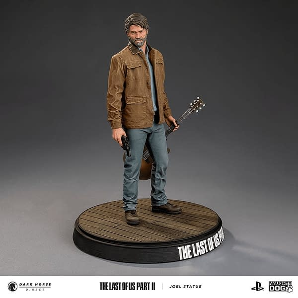 Naughty Dog Studios Reveals The Last of Us Part II Joel Statue