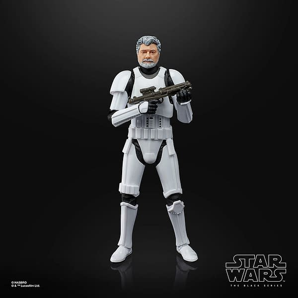 George Lucas Stormtrooper Debuts for Star Wars: The Black Series