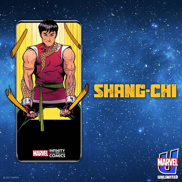 New Four-Issue Shang Chi Series, Available Now On Marvel Unlimited