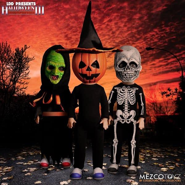 Mezco Toyz Reveals Halloween III: Season of the Witch Dead Dolls