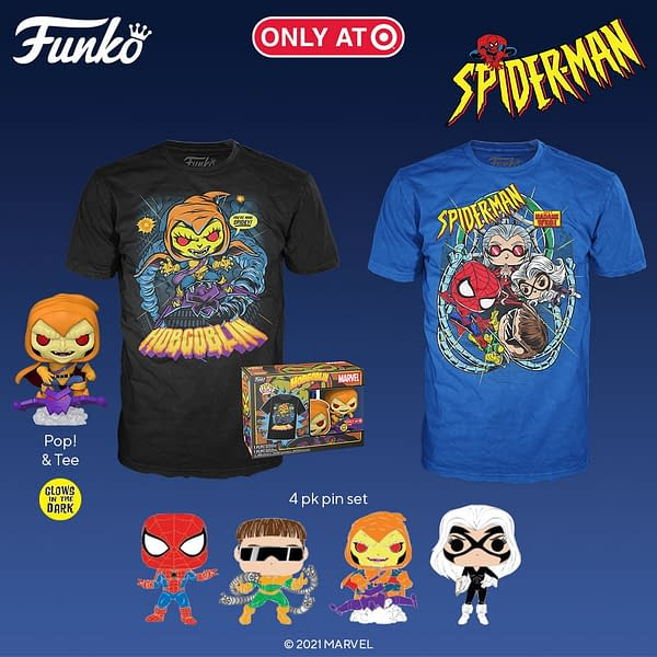 Funko reveals the release of Animated Spider-Man exclusively on Target