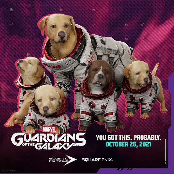Marvel's Guardians Of The Galaxy Gives Cosmo A New Trailer