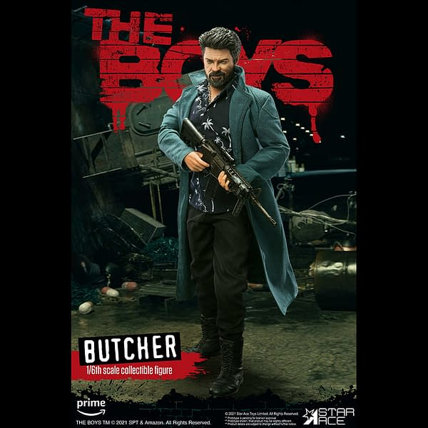 The Boys Billy Butcher Comes to Star Ace Toys with New Bloody Figure