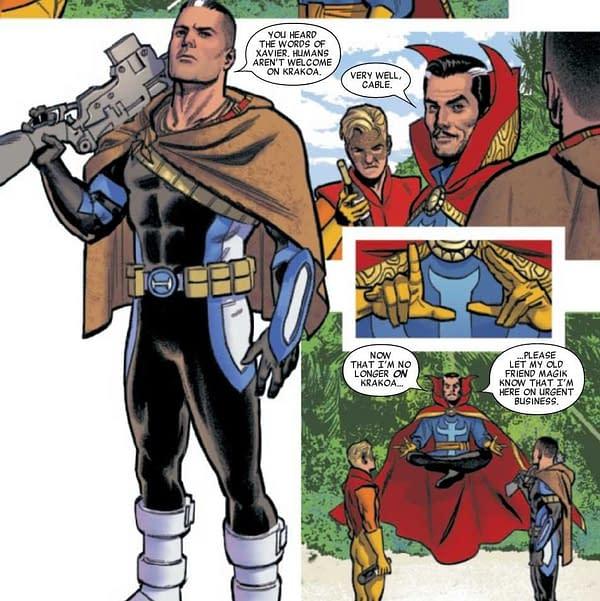 Take Krakoan Pryde in Today's Marauders #7, X-Men/Fantastic Four #1 and Savage Avengers #0 (Spoilers)