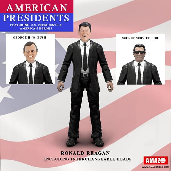 American Presidents Action Figures kickstarter