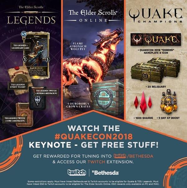 QuakeCon to Hold Quake Champions and Elder Scrolls Esports Tournaments