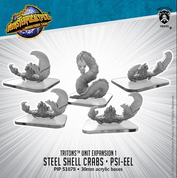 "Privateer Press Releases New ""Monsterpocalypse"" Models"