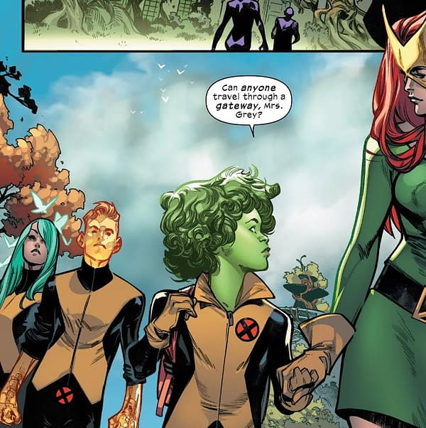 Green Hair and X-Men - A Random Art Run Around Krakoa