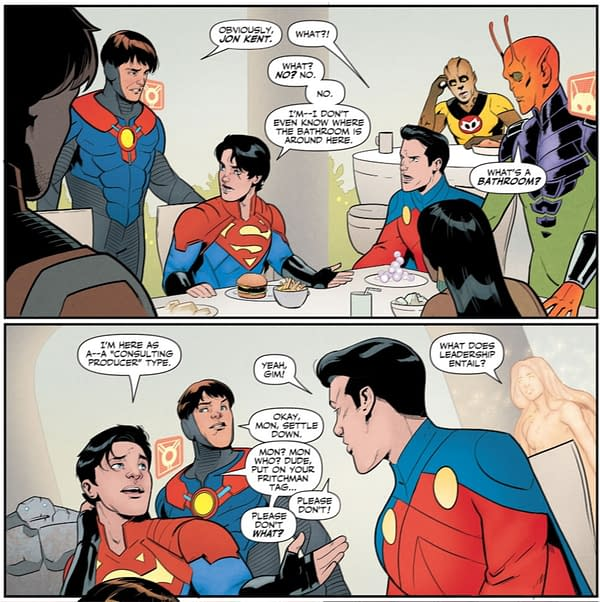 Jonathan Kent's 5G Future - Mon-El As Well? Legion Of Super-Heroes #7