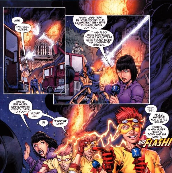 Teen Titans #1 Burnt Down The X-Men Mansion