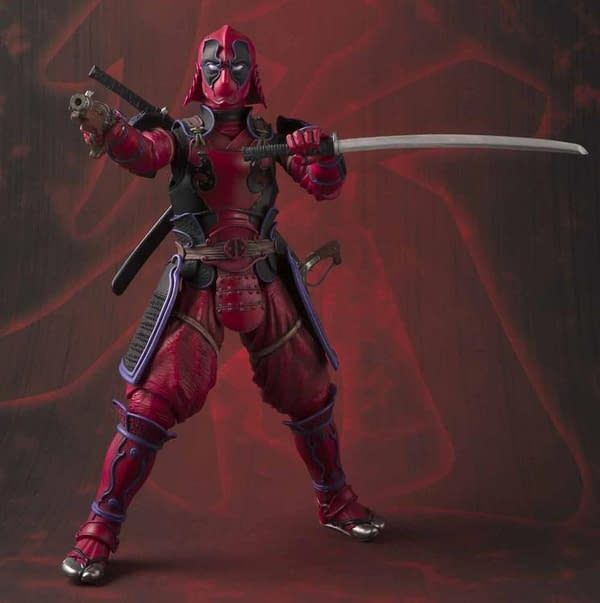 Deadpool is the Latest Manga Realization Figure From Bandai