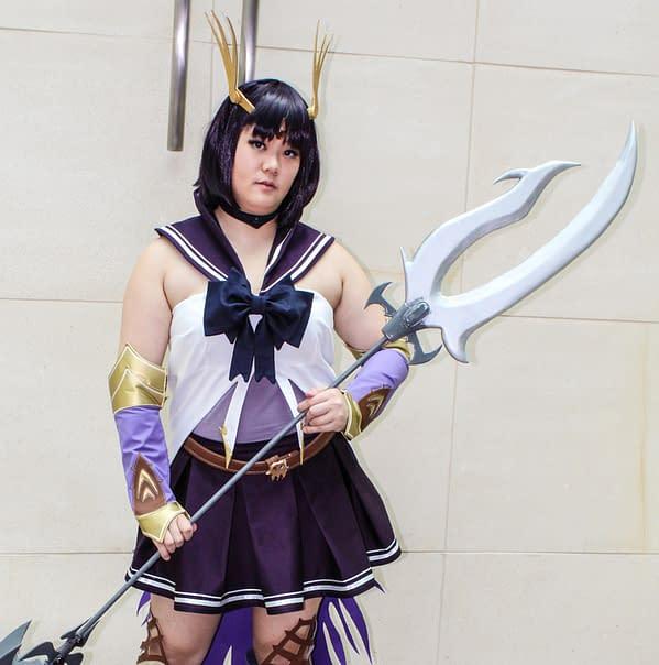 Otakon Cosplay Spotlight: Niaang Cosplay As Sailor Saturn