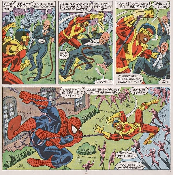 Is Marvel Putting Blatant Left-Wing Antifa Politics In Their Spider-Man Comics?