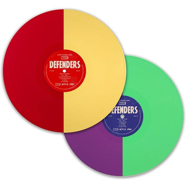 Mondo Music Release of the Week: Marvel's The Defenders Soundtrack