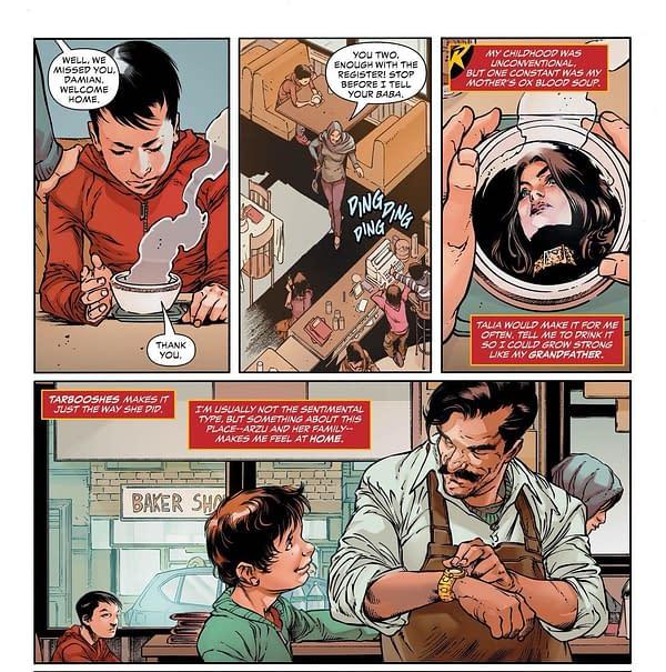 Damian Wayne: Vegetarian No More?