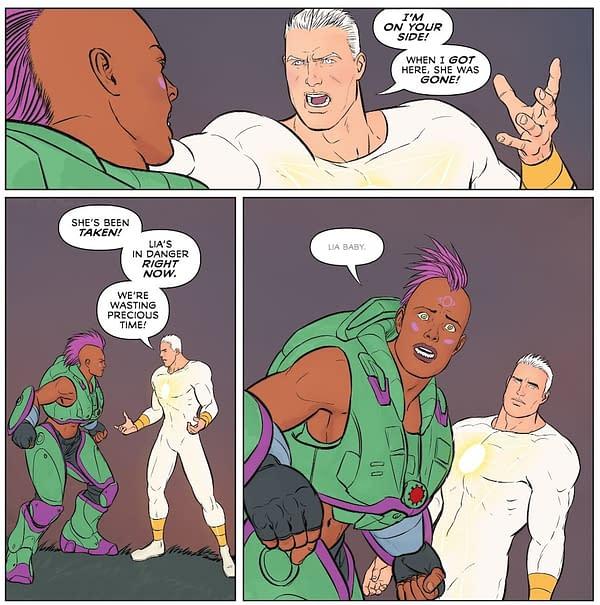 New Trans Man DC Comics Character, O.M.A.C.