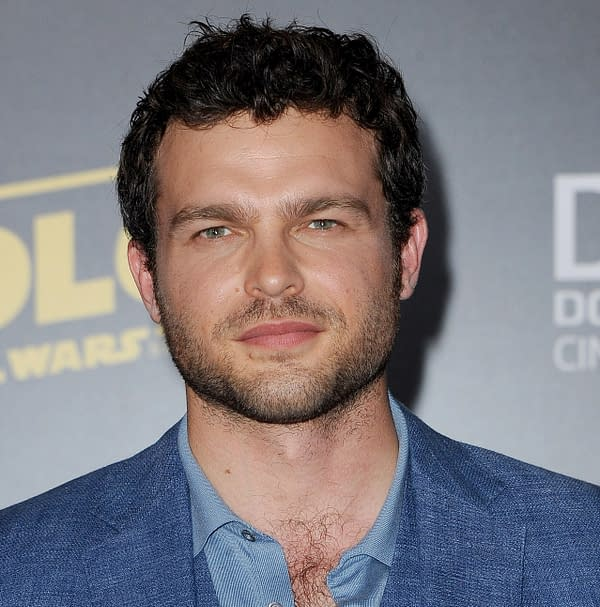 Alden Ehrenreich at the premiere of Disney Pictures and Lucasfilm's 'Solo: A Star Wars Story' held at the El Capitan Theatre in Hollywood, USA on May 10, 2018.